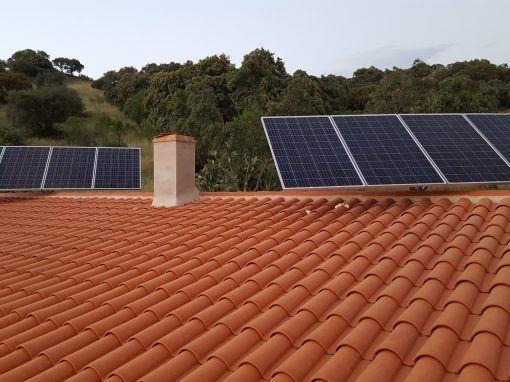 Instalación Fotovoltaica Valuengo