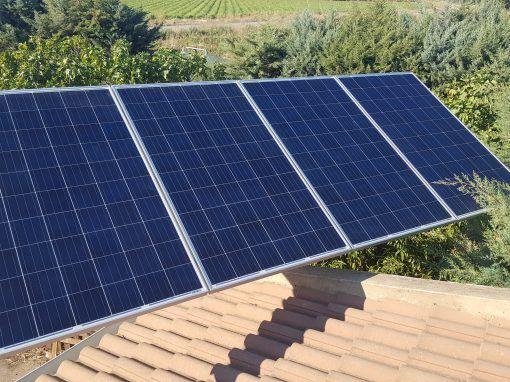 Instalación Fotovoltaica Puebla de la Calzada