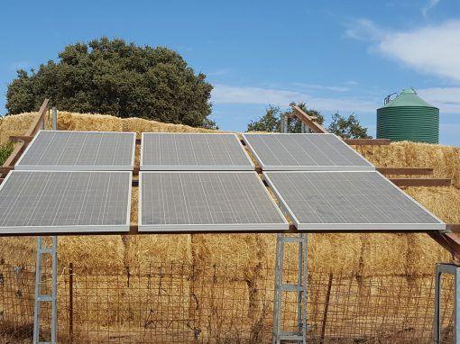 Instalación Bombeo Solar Valle de Matamoros