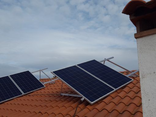 Instalación Fotovoltaica Aislada en finca entre Valle de Santa Ana y Salvatierra