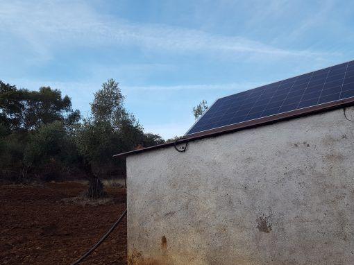 Instalación Bombeo Solar Fregenal de la Sierra