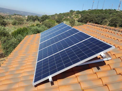 Instalación Fotovoltaica Aislada en Jerez de los Caballeros