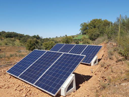 Instalación de Bombeo Solar en Valle de la Serena