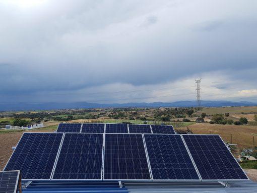 Instalación Fotovoltaica Aislada en Navalcarnero