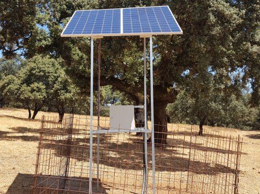 Instalación de Bombeo Solar en Valle de Santa Ana