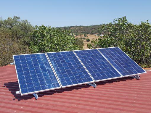 Instalación Fotovoltaica Aislada en Oliva de la Frontera