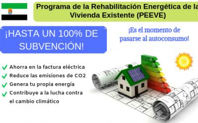 EXTREMADURA CONCEDE AYUDAS DESDE EL 60% HASTA EL 100% PARA EL AHORRO ENERGÉTICO Y DISMINUIR LAS EMISIONES DE CO2 EN LAS VIVIENDAS
