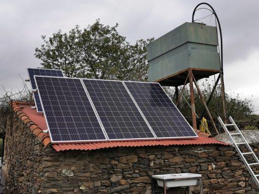 Instalación Fotovoltaica Aislada en Segura de León