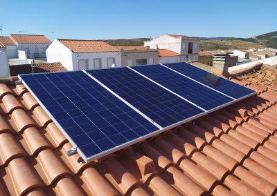 Instalación fotovoltaica de autoconsumo en Valle de la Serena