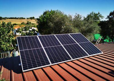 Instalación fotovoltaica en Fregenal de la Sierra