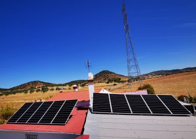 Instalación fotovoltaica de autoconsumo en Jerez de los Caballeros