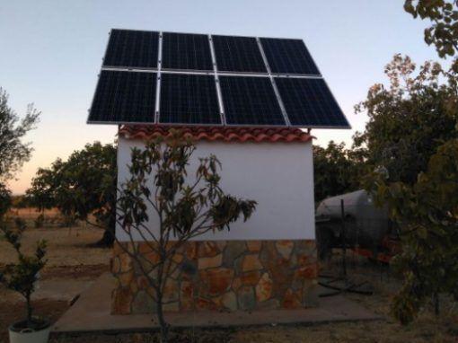 Instalación Fotovoltaica Bodonal de la Sierra
