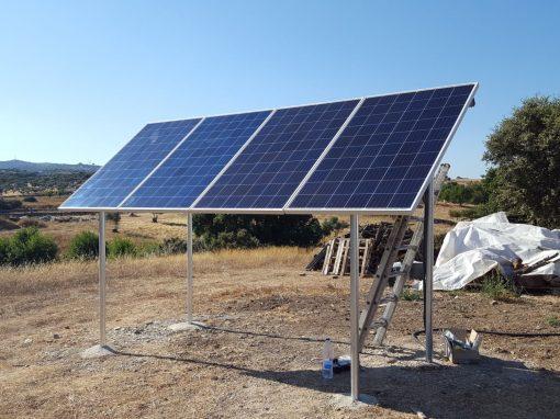 Instalación Fotovoltaica Aislada en Fregenal de la Sierra.
