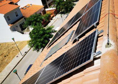 Instalación fotovoltacia de autoconsumo en Zafra