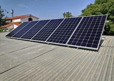 Instalación fotovoltaica de autoconsumo en Don Benito (Badajoz)